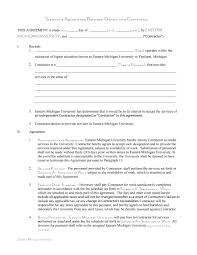 10 Vendor Agreement Templates Free 50 Free Independent Contractor Agreement Forms Templates