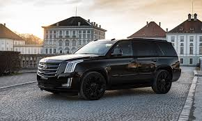 cadillac escalade 2017 grey geigercars de showcases a pretty large black edition model check