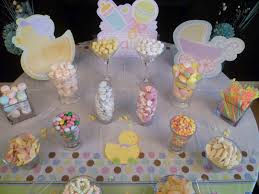edible baby shower table decorations baby shower candy table ideas