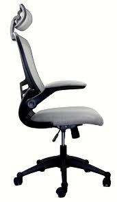 desk chair with headrest amazon com modern high back mesh executive chair with headrest and