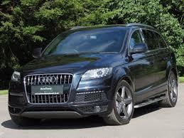 Audi Q7 Manual - used audi q7 cars for sale motors co uk