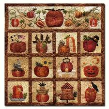 the great pumpkin cotton quilt kit bom start anytime by briar