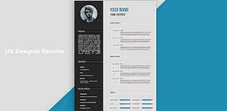 ui design cv 5 secrets to design an excellent ux designer resume and get hired