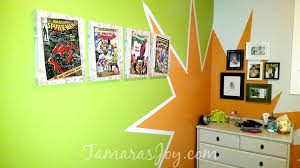 diy superhero bedroom boom tamara u0027s joy