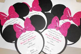 diy minnie mouse baby shower invitations www awalkinhell com