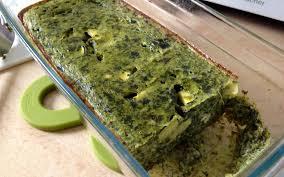 cuisiner epinard frais recette flan d épinard courgette et fromage frais pas chère et