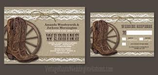 country wedding invitations burlap wedding invitations vintage rustic wedding invitations