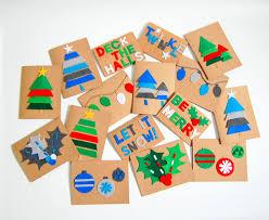 christmas cards diy felt christmas cards northstory