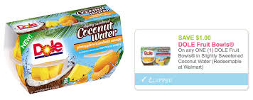 dole fruit bowls new 1 1 dole fruit bowls in slightly sweetened coconut water