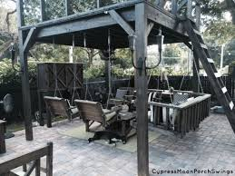 modern outdoor furniture and porch swings cypress moon porch