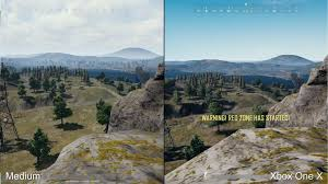 pubg xbox one x graphics pubg xbox one one x vs pc graphical comparison ultragamerz the