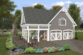 cottage style garage plans country craftsmen farm style garage back of house house