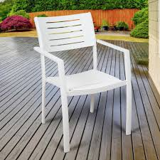 Stackable Outdoor Dining Chairs Hampton Bay Mix And Match Stackable Sling Outdoor Dining Chair In
