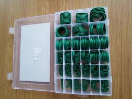 types of green color fkm o ring combination package sealing type green color seal o
