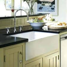 Cheap Farmhouse Kitchen Sinks Tremendeous Farmer Sink From Barclay In Country Kitchen Find
