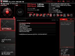 bios the msi x99a gaming pro carbon motherboard review