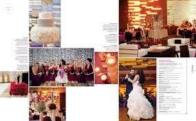 magazine wedding programs published in the knot mn magazine glam 601 wedding the