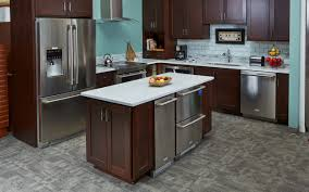 appliance adorable glossy wood floor with grey cabinet kitchen sophisticated kitchen backsplash white tile ceramic design with lowes grnaite kitchen table and charming range hood