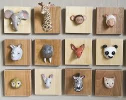 Animal Wall Decor For Nursery Mommo Design Diy Wall Decor Taxidermy Pinterest Diy Wall