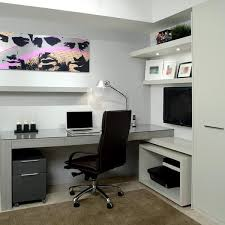 Small Built In Desk Space Saving Built In Office Furniture In Corners Personalizing