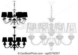 Free Chandelier Clip Art Vector Clipart Of Luster Chandelier Vector 51 Eps Luster