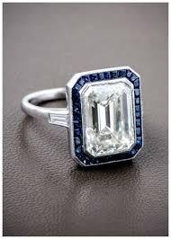 sapphire emerald cut engagement rings best 25 emerald cut sapphire ring ideas on emerald