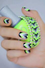 12 best uñas flourecentes images on pinterest make up nail art