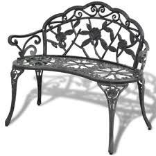 unbranded aluminum patio u0026 garden benches ebay