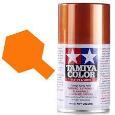 tamiya color for plastics spray 100ml metallic orange ts 92 ebay