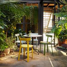 Belleville Patio Furniture Belleville Table Outdoor ø79 6cm Vitra Ambientedirect Com