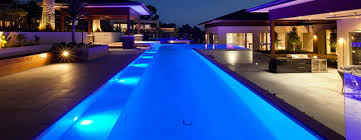 Awesome Swimming Pool Lighting Design Contemporary Decorating