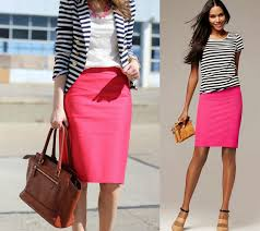 striped pencil skirt dress ala pencil skirt to office color combinations and tips by style