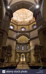 An Interior View Of The Basilica Di Santa Maria Del Fiore Duomo