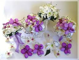 flowers decoration simple floral artificial lilies arrangements