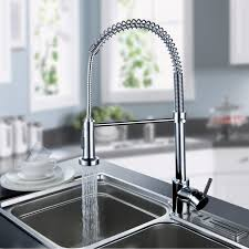 Pre Rinse Kitchen Faucets Lightintheboxsolid Brass Pull Down Kitchen Faucet With Pull Down