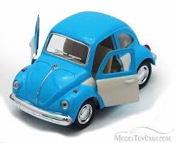 volkswagen classic car 1967 volkswagen classic beetle blue kinsmart 4026dc 3 75