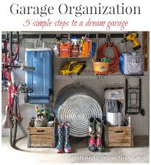 How To Organize Garage - how to organize your garage in 5 simple steps postcards from the