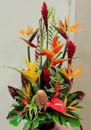 tropical flower arrangements large tropical arrangement pinteres