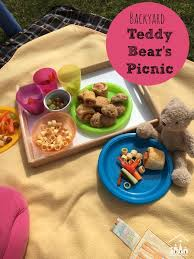 Backyard Activities For Kids Backyard Teddy Bear U0027s Picnic Crafty Kids At Home