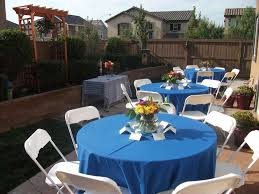 Backyard Parties Baptism Party Ideas Backyard And Baptism Photos