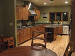 color ideas for kitchen with wood floors and wood cabinets lavish