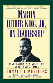 amazon com martin luther king jr on leadership inspiration