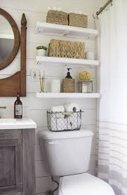 Bathroom Wall Ideas On A Budget Top 25 Best Decorating Bathroom Shelves Ideas On Pinterest