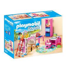 playmobil chambre des parents chambre d enfant playmobil city la grande récré vente de