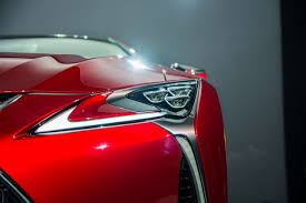 lexus lf lc tail lights new and stunning lexus lc 500 debuted at naias 2016