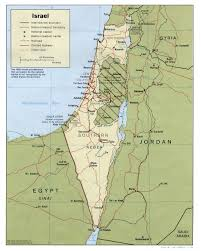 Map Of Israel In Jesus Time Israel Maps Perry Castañeda Map Collection Ut Library Online
