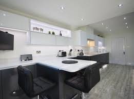 Kitchen Designers Essex Another View Of The Kitchen Diner Units Along One Wall Means