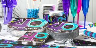 the party supplies the party continues 40th birthday party supplies party city