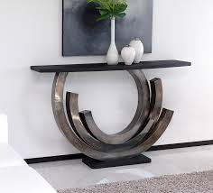 modern console table decor furniture modern console table design with black surface and white