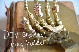 ceramic hand ring holder images Mr kate diy skeleton hand ring holder jpg